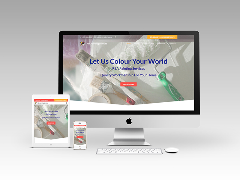 REA Painting Website